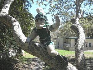 Sparty in Tree