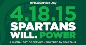 spartans will power global day